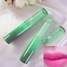 New Magic Temperature Color Changing Lipstick Moisturing Lip Balm Green to Pink.
