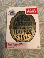 Disney Store Oh My Disney Evil Queen Glass Compact Mirror Snow White New In Box