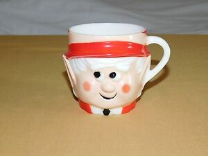 VINTAGE KITCHEN 1972 KEEBLER CO ELF PLASTIC MUG CUP