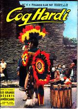 COQ HARDI N°4  5ème SERIE DE 1962 EDITIONS DE CHATEAUDUN