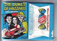 1980 Dukes of Hazzard Wax Pack Fresh from Original Box (x1)!