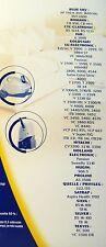 WPRO GS83MW sacs aspirateur GOLDSTAR LG HITACHI BLUE SKY FAR HOLLAND SILVA (x8)