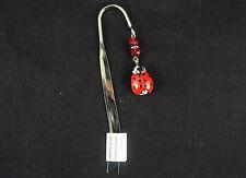 Comforting Clay Metal Bookmark Good Luck Ladybug ~ NEW Free Ship USA  #2679