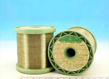 100ft  30m E ISOTAN Constantan 34AWG 0.16mm 24.4 Ω/m  7.4 Ω/ft Resistance WIRE