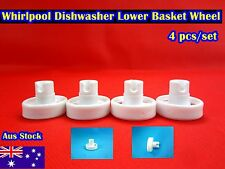 Whirlpool Dishwasher Spare Part Lower Basket Wheel Replacement 4 pcs white C309