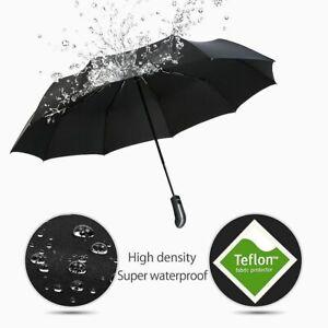 Automatic Umbrella Wind Resistant Folding Luxury Big Windproof Rain Umbrellas