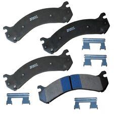 Disc Brake Pad Set-Stop Semi-Metallic Brake Pad Rear Bendix SBM909