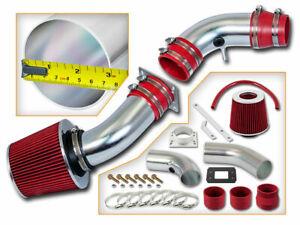 RAM AIR INTAKE KIT + RED  DRY FILTER FOR 95-97 Ford Ranger / Mazda B2300 2.3L L4