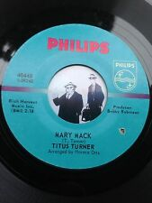 7'' Titus Turner Mary Mack On Philips In Ex (Soul)