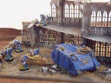 Warhammer 40k etc. terreno paisaje Pegasus edificio gótico