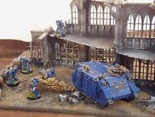 Warhammer 40k etc Terrain scenery Pegasus bâtiment Gothique