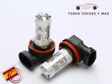 2 X BOMBILLAS LED COCHE H11 50W OSRAM 750LM ANTINIEBLA ALTA POTENCIA BLANCO