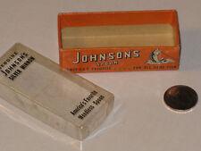 CLEAN Lure COLLECTOR Vintage Johnson's Small Silver Minnow No.#1010 Spoon Box