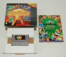 Earthbound (Super Nintendo SNES, 1995) Complete in Box with Guide