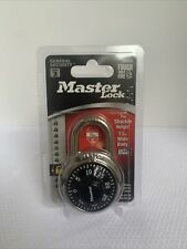 Master Lock Padlock 1500d Preset Combination Lock 1 78 Dial