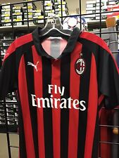 Puma AC Milan  2018/19 Red / Black Soccer Jersey Size Small NEW  NWT