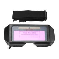 Occhiali di Protezione per Saldatura Oscuramento Auto Solare GM