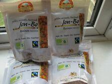4 x 100g Pearls Of Samarkand Organic Jon-Bo Raisins -NEW/HARD TO FIND IN UK (201