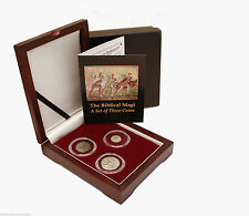"The Biblical Magi 3 Coin set - 2 Silver and 1 Bronze with COA ""The 3 Wisemen"""