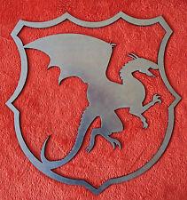 Stemma fregio figura drago in ferro per cancello inferriate a saldare