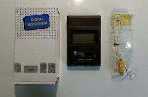 TM-902C LCD K Type Thermometer Meter + Thermocouple Probe U.K Shipping Direct