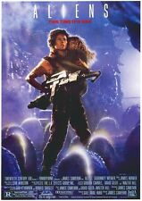 """Reproduction """"Aliens"""", Movie Poster, Classics, Home Wall Art"""