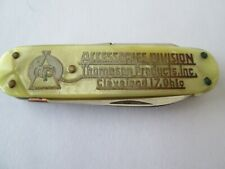 Antique Pocket Knife Thompson Accessories Inc Cleveland Ohio Mother of Pearl