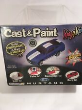 New/Sealed Cast & Paint Ford Mustang Skullduggery Krazy Kars W/ 2 Blo Pens 1:64