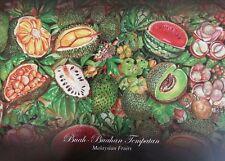 Malaysia Fruits Plant Food Starfruit Durian Honeydew 2014 (Folder) *Limited qty