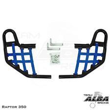 Yamaha Raptor 350   Nerf Bars   Alba Racing  Black Blue 209 T1 BL