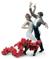 LLADRO FLAMENCO DANCERS COUPLE FIGURINE #9333 BRAND NIB ROMANCE SPANISH SAVE$ FS