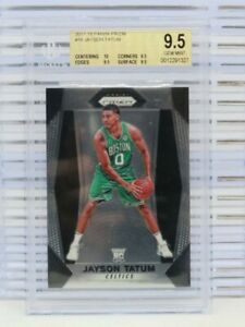 2017-18 Prizm Jayson Tatum Rookie Card RC #16 BGS 9.5 TRUE GEM+ Celtics F78
