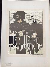 "BONNARD  PIERRE ""LA REVUE  BLANCHE"" 1896"