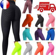 Damen Legging Femme Anti Cellulite Butt Lift Yoga Sport PUSH UP Pantalon Fitnes