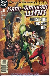 Rann-Thanagar War #1 (2005) NM, Hawkman, Adam Strange, Green Lantern