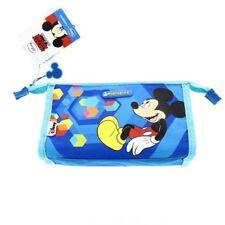 Disney Mickey Mouse Blue Make Up Bag Padded Zipped Samsonite Travel Wash Case