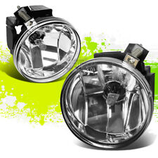 CLEAR LENS OE BUMPER FOG LIGHTS/LAMPS PAIR KIT FOR 01-04 DODGE DAKOTA/DURANGO