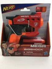 N-Strike Mega BigShock Blaster, Includes 2 Mega Whistler Darts (Ages 8+)