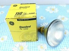 General Electric Standard 150 Watt Light Bulb Regular Service Weatherproof Flood