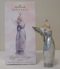 "Hallmark Ornament  JOYFUL TIDINGS ANGELS "" ARIANNE""SILVER IS THE COLOR OF BEAUTY"