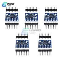 5PCS MPU-6050 Module 3 Axis Gyroscope+Accelerometer MPU6050 Module for Arduino