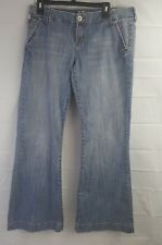 Women !1T Blue Flare Jeans Los Angeles Life Style Size 31