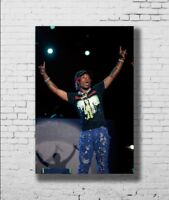 0526D Hot New Lil Uzi Vert Hip Hop Rap Music Stars-Print Art Silk Poster