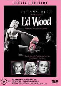 ED WOOD New Dvd JOHNNY DEPP ***