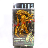 "2017 SDCC NECA Sewer Mutation Warrior Alien Xenomorph 7"" Action Figure Aliens"