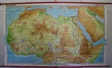 School Wall Map Wall Map School Map North Africa North Africa Africa 3mio 254x153c