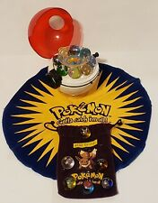 Pokemon Poke Ball Collector CHARIZARD Marble Shooter with 14 Vintage Marbles