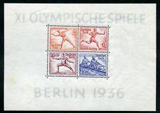 Deutsches Reich bl.6 ** OLIMPIADI blocco 1936 me 150,- + +!!! (110589)