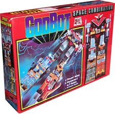 GODBOT SPACE COMBINATION 1980 DIE CAST TAIWAN VOLTRON Figure Ultra Rare New