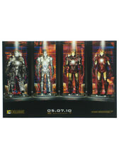 Iron Man 2010 SDCC Comic Con Exclusive Movie Concept Artwork Promo Poster Marvel